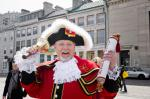 World champion town crier Chris Whyman