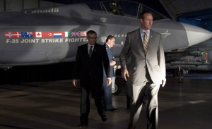 No need to have bids, F-35 fighter jet only aircraft that meets Canada's defense needs?