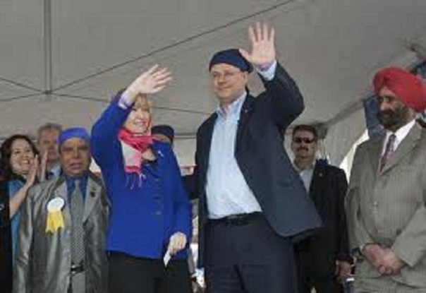 Would you say Harper is trying to woo an ethnic voting block and if so is he doing it with tax payer dollars?