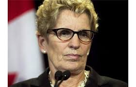 I wonder what Kathleen Wynne  would do if the feds threatened her in that manner?