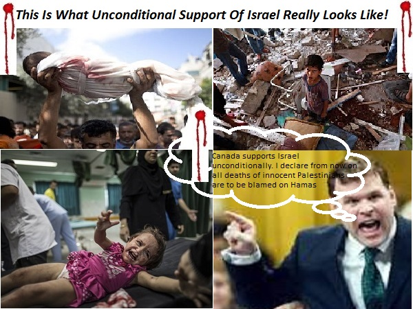 What Unconditional Support For Israel Looks Like